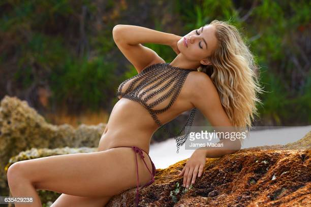 Model Hailey Clauson poses for the 2017 Sports Illustrated swimsuit issue on October 13 2016 on Sumba Island Bali Indonesia PUBLISHED IMAGE CREDIT...