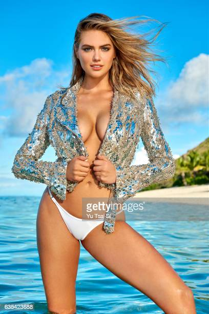 Model Kate Upton poses for the 2017 Sports Illustrated swimsuit issue on November 3 2016 in Fiji COVER IMAGE CREDIT MUST READ Yu Tsai/Sports...