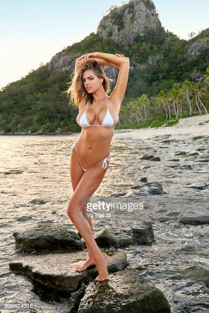 Model Kate Upton poses for the 2017 Sports Illustrated swimsuit issue on November 4 2016 in Fiji PUBLISHED IMAGE CREDIT MUST READ Yu Tsai/Sports...