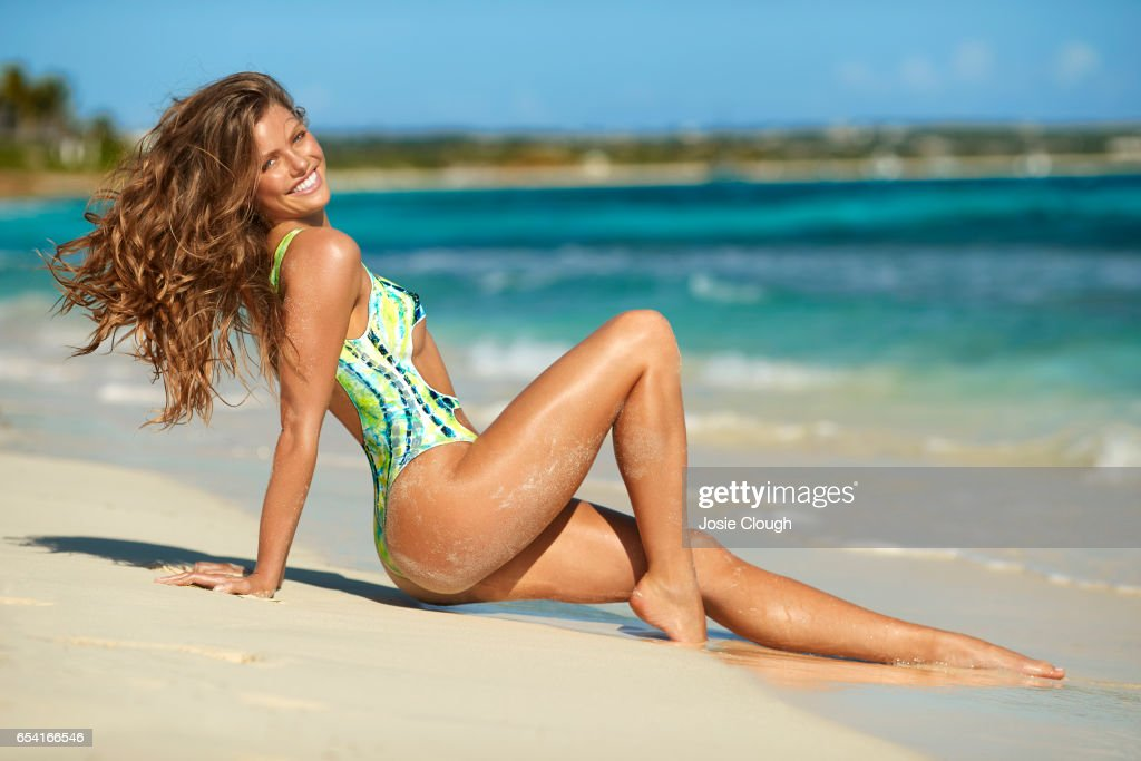 Model McKenna Berkley poses for the 2017 Sports Illustrated swimsuit issue on January 6, 2017 on Anguilla. Body painting by Joanne Gair. PUBLISHED IMAGE.