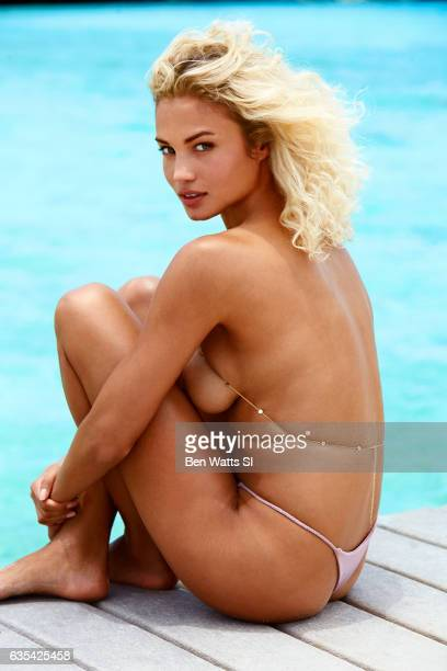 Model Rose Bertram poses for the 2017 Sports Illustrated swimsuit issue on August 6 2016 on Curacao PUBLISHED IMAGE CREDIT MUST READ Ben Watts/Sports...