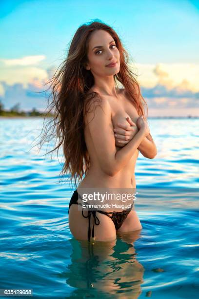 Singer Alexa Ray Joel poses for the 2017 Sports Illustrated swimsuit issue on September 14 2016 on Turks Caicos Islands PUBLISHED IMAGE CREDIT MUST...