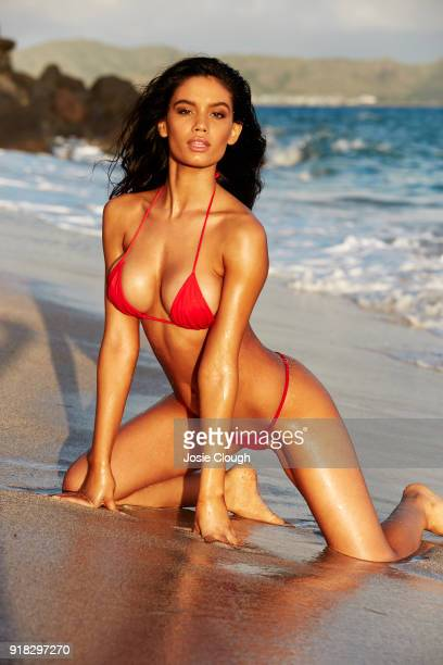 Model Anne de Paula poses for the 2018 Sports Illustrated swimsuit issue on December 5 2017 in Nevis PUBLISHED IMAGE CREDIT MUST READ Josephine...