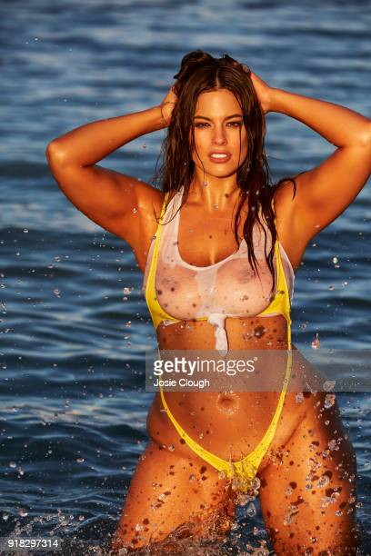 Model Ashley Graham poses for the 2018 Sports Illustrated swimsuit issue on December 11 2017 in Nevis PUBLISHED IMAGE CREDIT MUST READ Josephine...