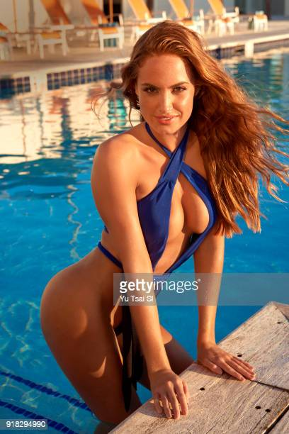 Model Haley Kalil poses for the 2018 Sports Illustrated swimsuit issue on November 15 2017 in Belize PUBLISHED IMAGE CREDIT MUST READ Yu Tsai/Sports...