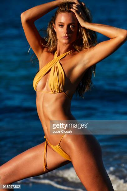 Model Kate Bock poses for the 2018 Sports Illustrated swimsuit issue on December 9 2017 in Nevis PUBLISHED IMAGE CREDIT MUST READ Josephine...