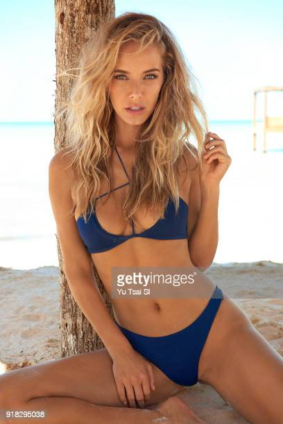 Model Olivia Jordan poses for the 2018 Sports Illustrated swimsuit issue on November 15 2017 in Belize PUBLISHED IMAGE CREDIT MUST READ Yu...