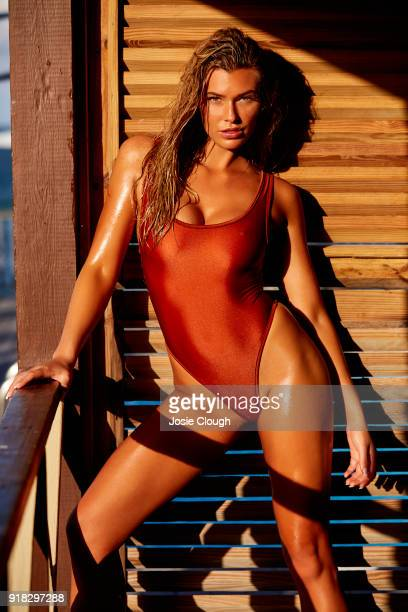 Model Samantha Hoopes poses for the 2018 Sports Illustrated swimsuit issue on December 8 2017 in Nevis PUBLISHED IMAGE CREDIT MUST READ Josephine...