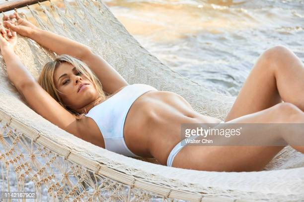 Swimsuit Issue 2019 Mix martial artist Paige VanZant poses for the 2019 Sports Illustrated swimsuit issue on March 4 2019 in Puerto Vallarta Mexico...