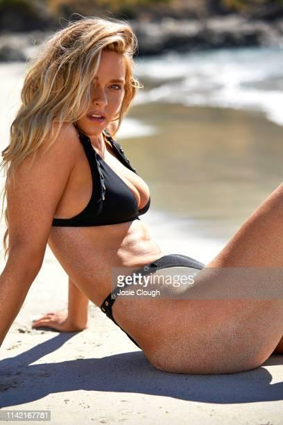 Swimsuit Issue 2019 Model Camille Kostek poses for the 2019 Sports Illustrated swimsuit issue on October 23 2018 on Kangaroo Island Australia...