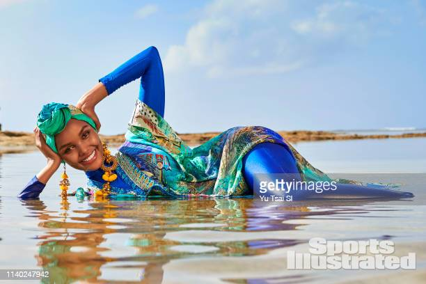 Swimsuit Issue 2019 Model Halima Aden poses for the 2019 Sports Illustrated swimsuit issue on January 18 2019 in Kenya PUBLISHED IMAGE CREDIT MUST...