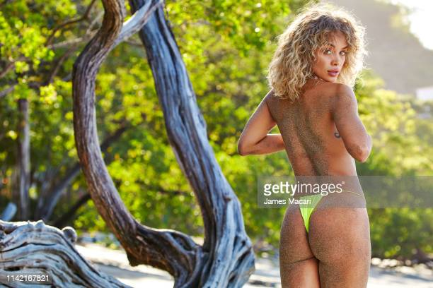 Swimsuit Issue 2019 Model Jasmine Sanders poses for the 2019 Sports Illustrated swimsuit issue on December 8 2018 in Las Catalinas Costa Rica...