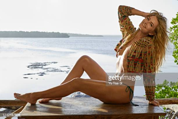 Swimsuit Issue 2019 Model Paulina Porizkova poses for the 2019 Sports Illustrated swimsuit issue on January 16 2019 in Kenya PUBLISHED IMAGE CREDIT...