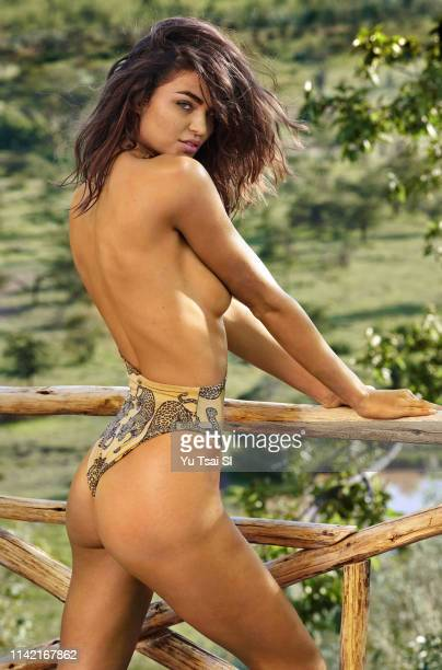 Swimsuit Issue 2019 Model Robin Holzken poses for the 2019 Sports Illustrated swimsuit issue on January 22 2019 in Kenya PUBLISHED IMAGE CREDIT MUST...