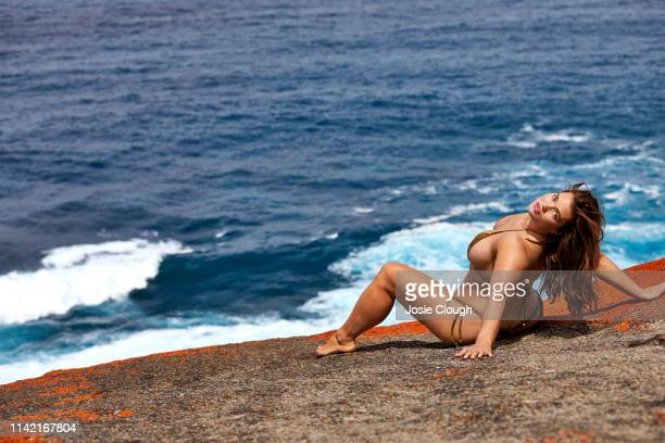 Swimsuit Issue 2019 Model Tara Lynn poses for the 2019 Sports Illustrated swimsuit issue on October 30 2018 on Kangaroo Island Australia PUBLISHED...