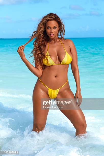 Swimsuit Issue 2019 Model Tyra Banks poses for the 2019 Sports Illustrated swimsuit issue on February 19 2019 in Exuma Bahamas COVER IMAGE CREDIT...
