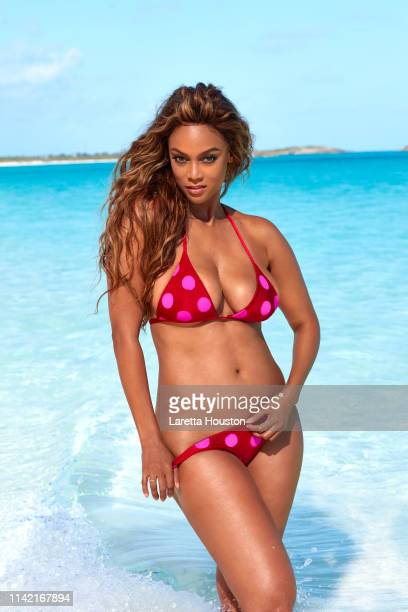 Swimsuit Issue 2019 Model Tyra Banks poses for the 2019 Sports Illustrated swimsuit issue on February 19 2019 in Exuma Bahamas PUBLISHED IMAGE CREDIT...