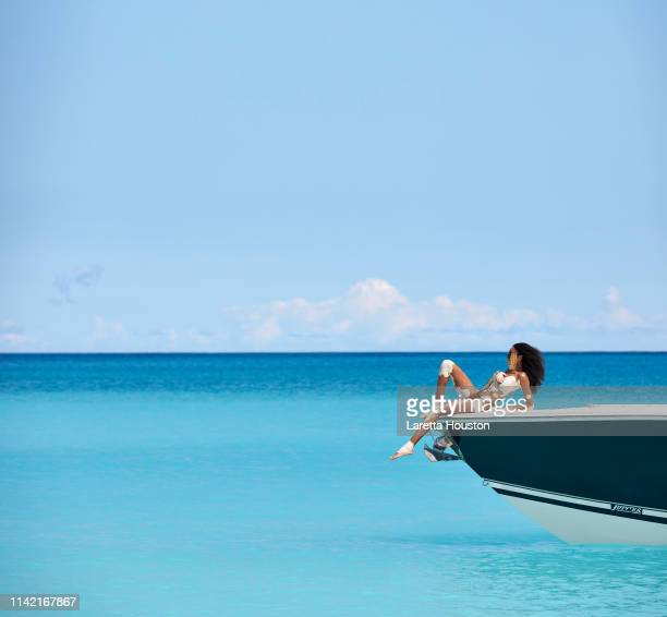 Swimsuit Issue 2019 Model Winnie Harlow poses for the 2019 Sports Illustrated swimsuit issue on February 15 2019 in Exuma Bahamas PUBLISHED IMAGE...