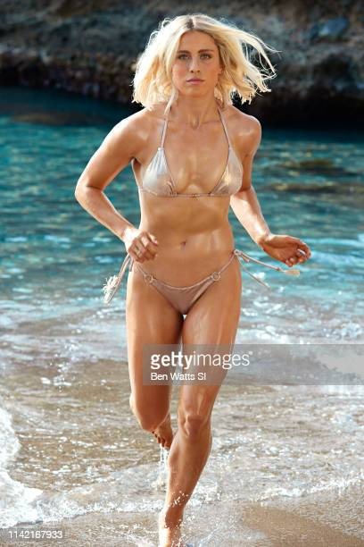 Swimsuit Issue 2019 Soccer player Abby Dahlkemper poses for the 2019 Sports Illustrated swimsuit issue on March 15 2019 in Saint Lucia PUBLISHED...