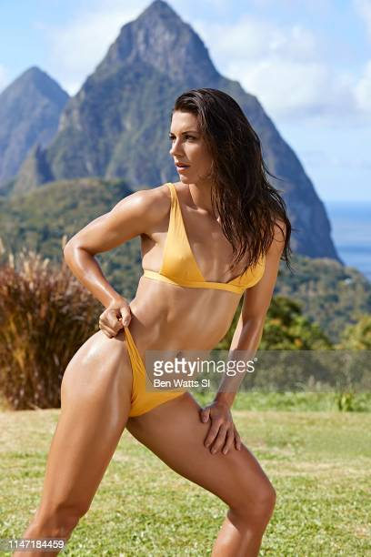Swimsuit Issue 2019 Soccer player Alex Morgan poses for the 2019 Sports Illustrated swimsuit issue on March 12 2019 in Saint Lucia CREDIT MUST READ...