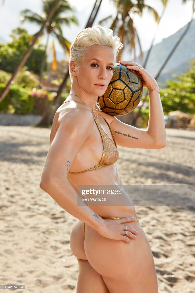 Soccer player Megan Rapinoe poses for the 2019 Sports Illustrated... News Photo - Getty Images