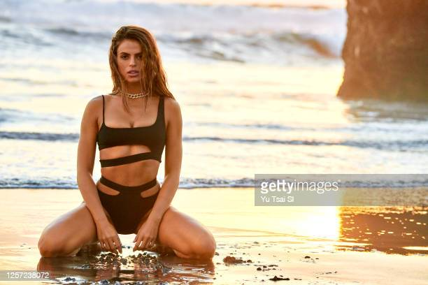 Swimsuit Issue 2020: Model Brooks Nader poses for the 2020 Sports Illustrated swimsuit issue on November 1, 2019 in Denpasar, Bali, Indonesia....