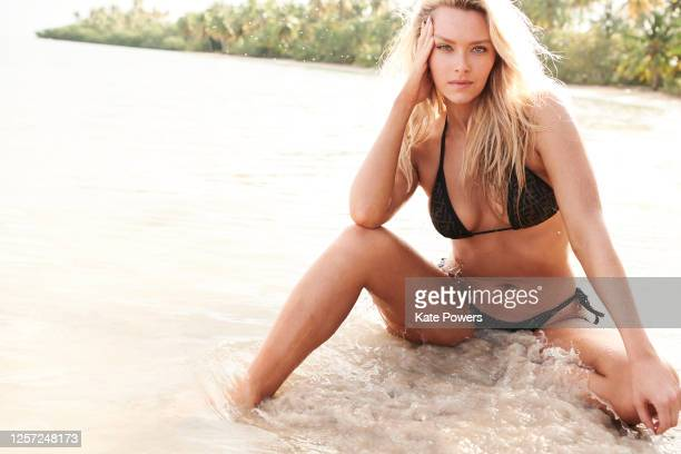 Swimsuit Issue 2020 Model Camille Kostek poses for the 2020 Sports Illustrated swimsuit issue on February 6 2020 in the Dominican Republic CREDIT...