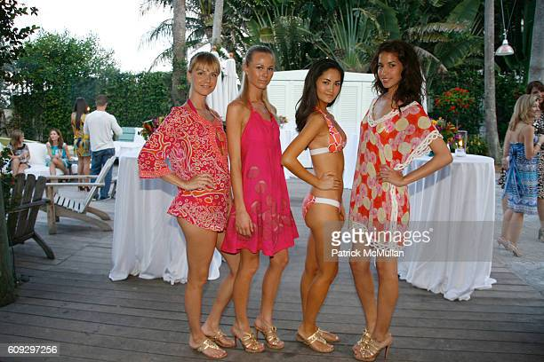 Swimsuit Model attends Launch of Diane von Furstenberg Soleil Swim and Beach Collection at The Delano on July 13 2007