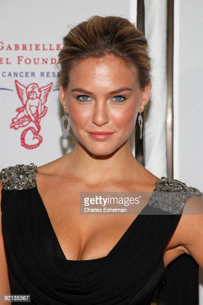 Swimsuit model Bar Refaeli attends the 2009 Angel Ball at Cipriani Wall Street on October 20 2009 in New York City