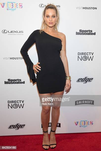 Swimsuit model Hannah Jeter attends the VIBES by Sports Illustrated Swimsuit 2017 launch festival at Post HTX on February 17 2017 in Houston Texas