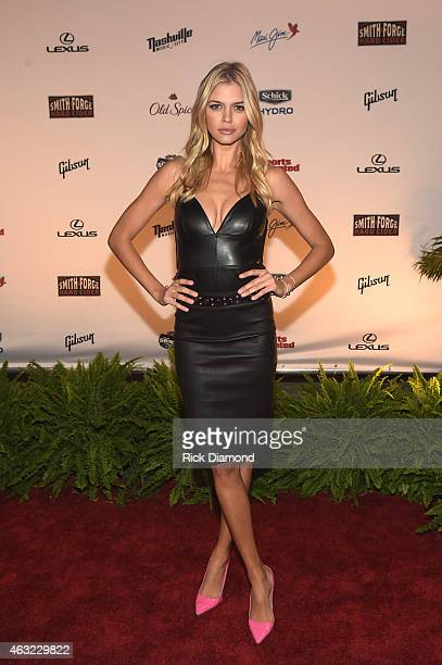 Swimsuit model Kelly Rohrback attends the Sports Illustrated 2015 Swimsuit Takes Over Nashville With Kings of Leon event on February 11 2015 in...