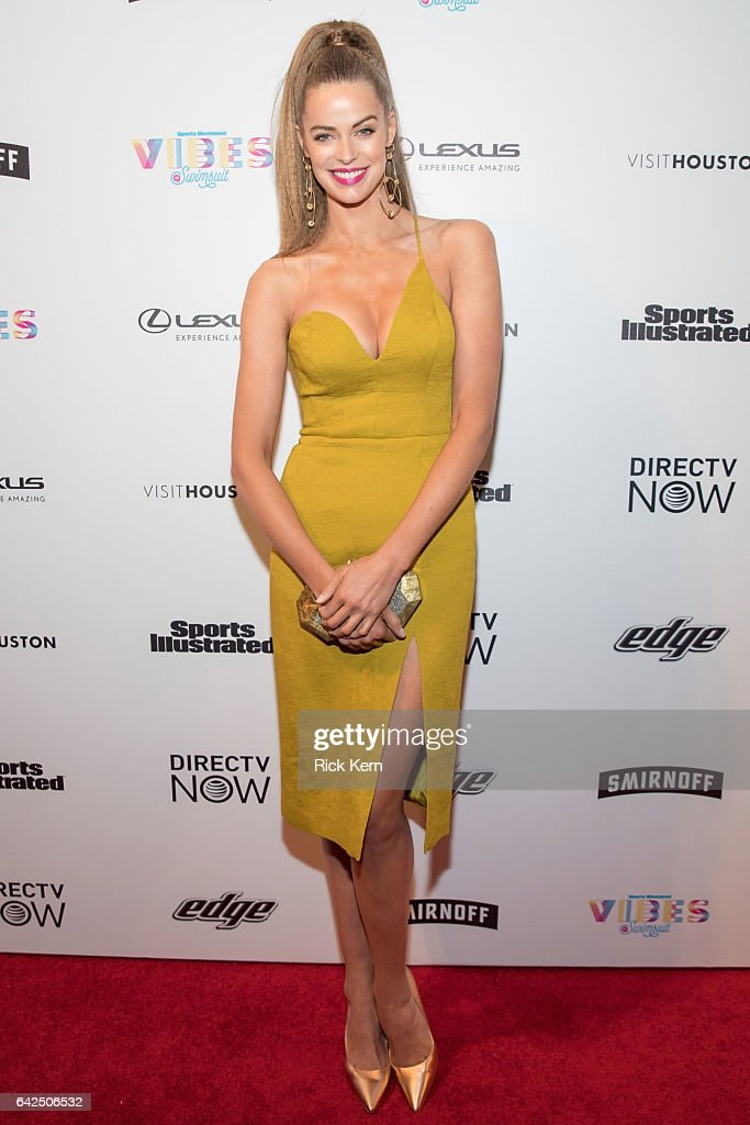 SI Swimsuit model Robyn Lawley attends the VIBES by Sports Illustrated Swimsuit 2017 launch festival at Post HTX on February 17, 2017 in Houston, Texas.