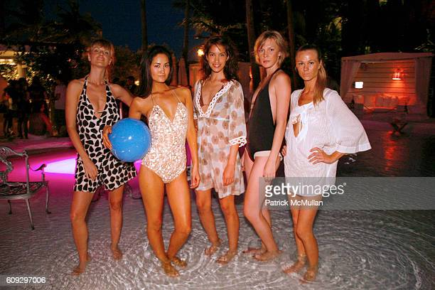 Swimsuit Models attends Launch of Diane von Furstenberg Soleil Swim and Beach Collection at The Delano on July 13 2007