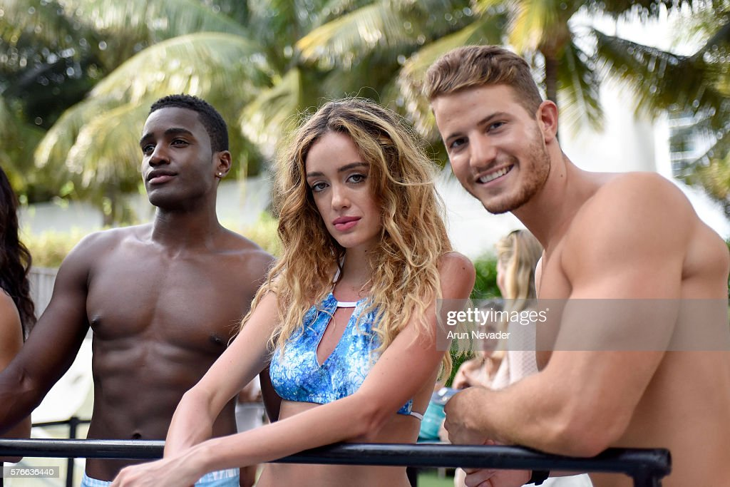 FL: Art Hearts Fashion Miami Swim Week At W Hotel Presented By Planet Fashion TV - Installation Presentation