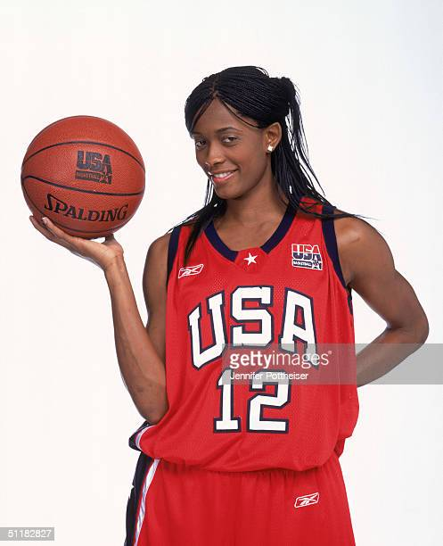 Swin Cash of Team USA poses for the 2004 Women's Team USA Portraits on March 23 2004 in Miami Florida NOTE TO USER User expressly acknowledges and...