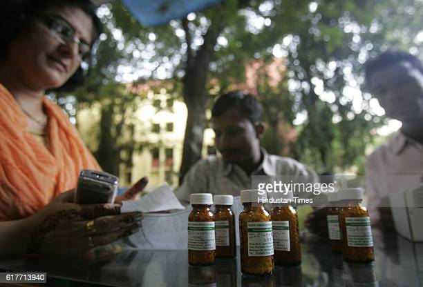 Swine Flu in Mumbai Homeopathy medicines for Swine flu at a medical shop at Matunga