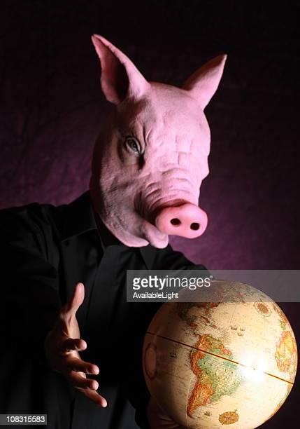 Gripe suína assumir o mundo