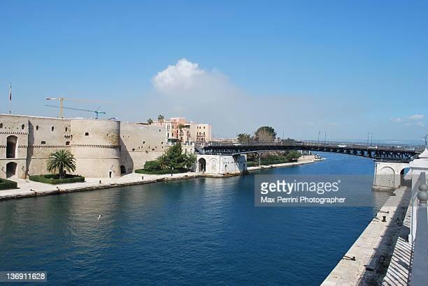 Swing bridge, Taranto Italy