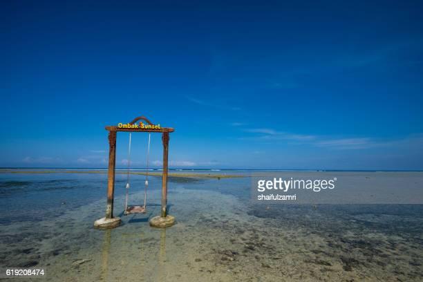 Swing in Gili Trawangan island