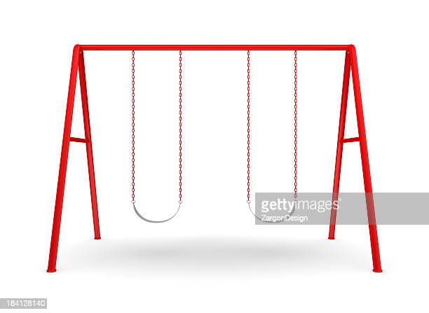 Swing Set on white