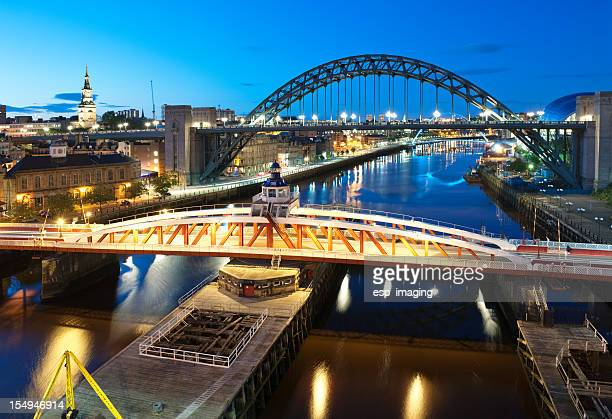 Swingbridge and Tyne Bridges
