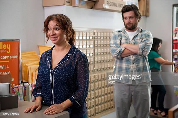 "Swingers"" Episode 202 -- Pictured: Maya Rudolph as Ava, Luka Jones as Scott --"