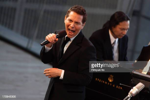 """""""Swinging with the Big Bands"""" with the host Michael Feinstein, and Vince Giordano and the Nighthawks at the Allen Room on Wednesday night, June 12,..."""