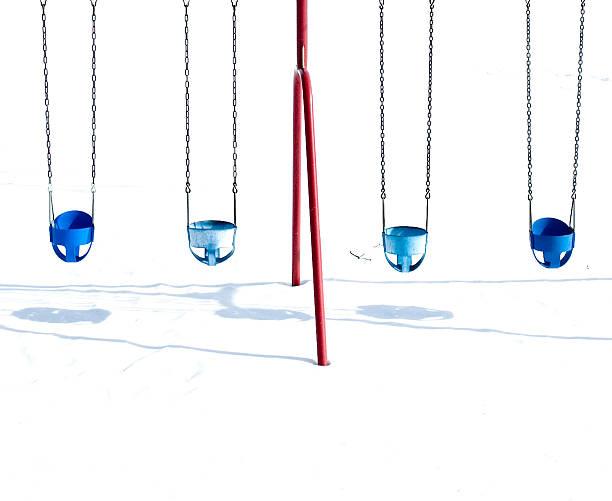 swings during winter