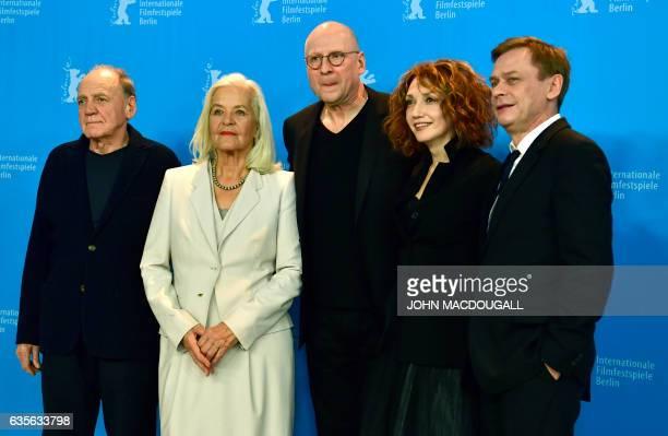 Swiss actor Bruno Ganz German actress Hildegard Schmahl German director Matti Geschonneck Israeli actress Evgenia Dodina and German actor Sylvester...