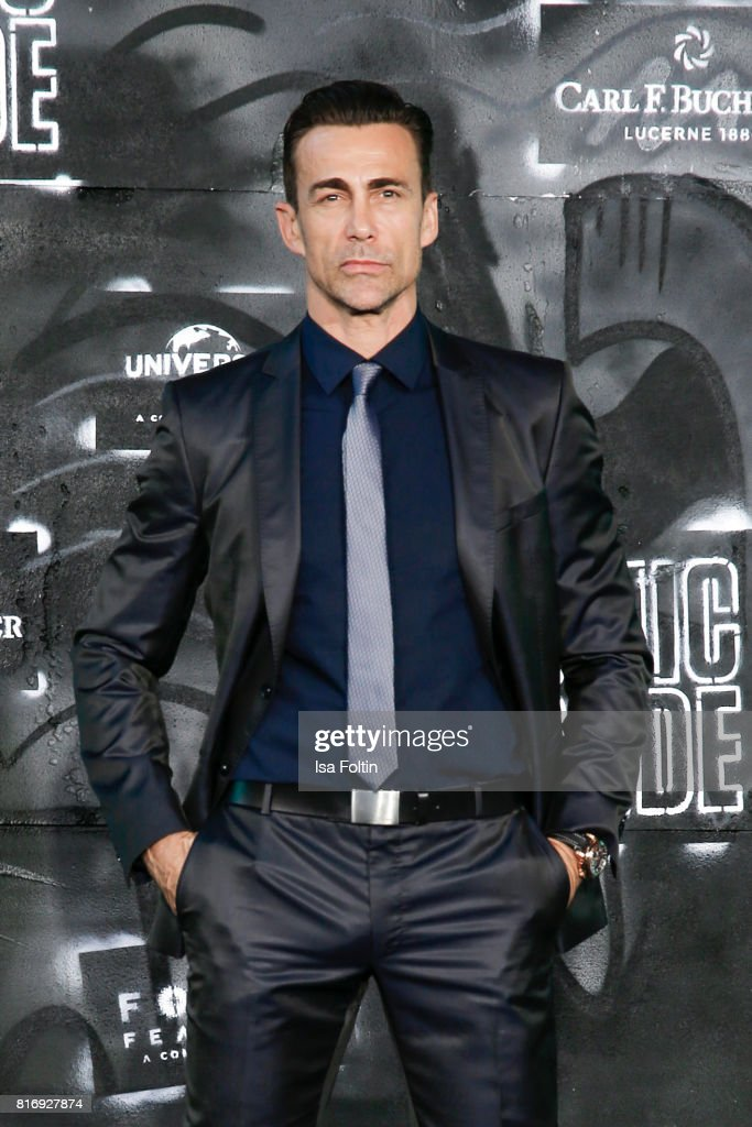 Swiss actor Daniel Bernhardt attends the 'Atomic Blonde' World Premiere at Stage Theater on July 17, 2017 in Berlin, Germany.