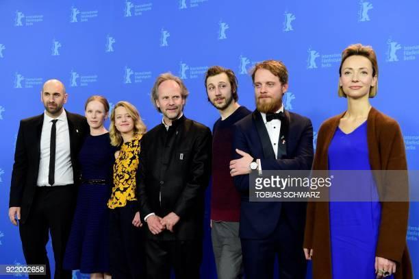 Swiss actor Urs Jucker Austrian actress Susanne Wuest German actress Julia Zange German director Philip Groening German actor Moritz Leu German actor...