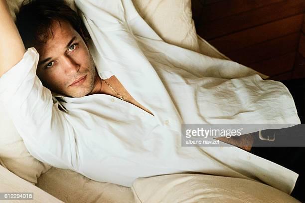 Swiss actor Vincent Perez