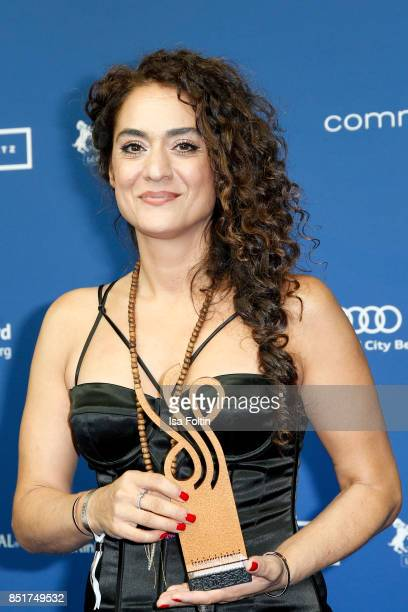 Swiss actress and singer and award winner Uygar Tamer during the 6th German Actor Award Ceremony at Zoo Palast on September 22, 2017 in Berlin,...