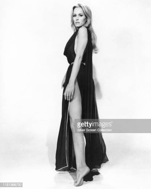 Swiss actress Ursula Andress as Ayesha in a publicity shot for the film 'She' 1965